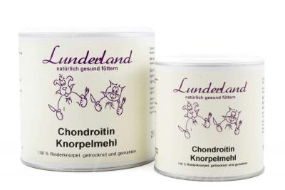 Lunderland Chondroitin Knorpelmehl 100g